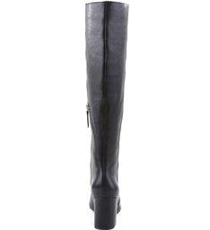 Bota Strech Leg Block Heel Black