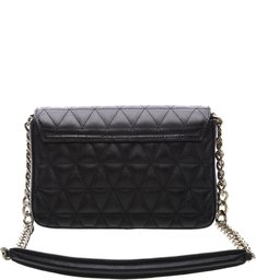 Mini Crossbody 944 Alça Dourada Black