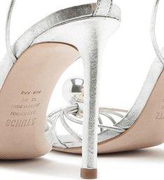 Sandália Salto Pearl Prata