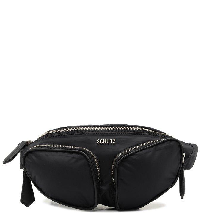 Pochete Sporty Nylon Black   Schutz