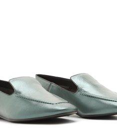 Loafer Metallic Verde-Militar