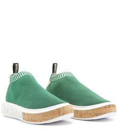 Sneaker It Schutz Bold Knit Green