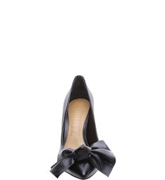 Lilly Scarpin Big Bow Black