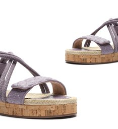 Sporty Sandal Cortiça Violet