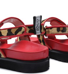 Sporty Sandal Utility Red