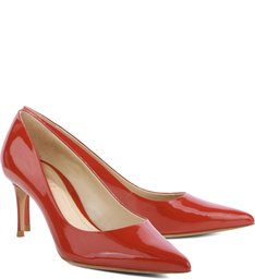 Scarpin Summer Red