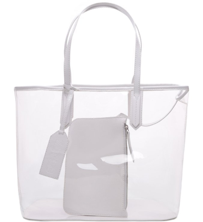Shopping Bag Vinil White