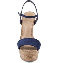 Sandália Meia Pata Cortiça Dress Blue