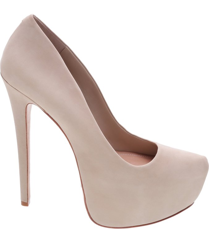 Scarpin Retrô  Diva High Oyster
