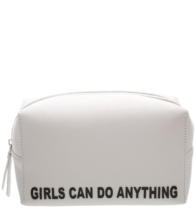 NECESSAIRE WHITE GIRLS CAN DO ANYTHING