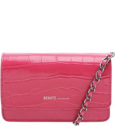 Crossbody 4 Girls Lorena Croco Pink