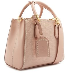 MINI TOTE NEW LORENA CROCO ROSE