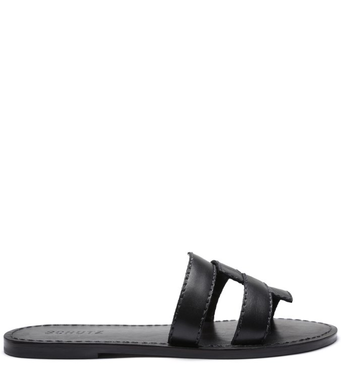 SLIDE NEW STRAPS BLACK