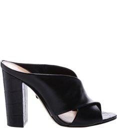 Mule Bold Croco Black