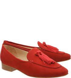 Mocassim Tassel Tango Red