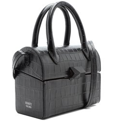 The 2020 Bowling Crossbody Croco Black