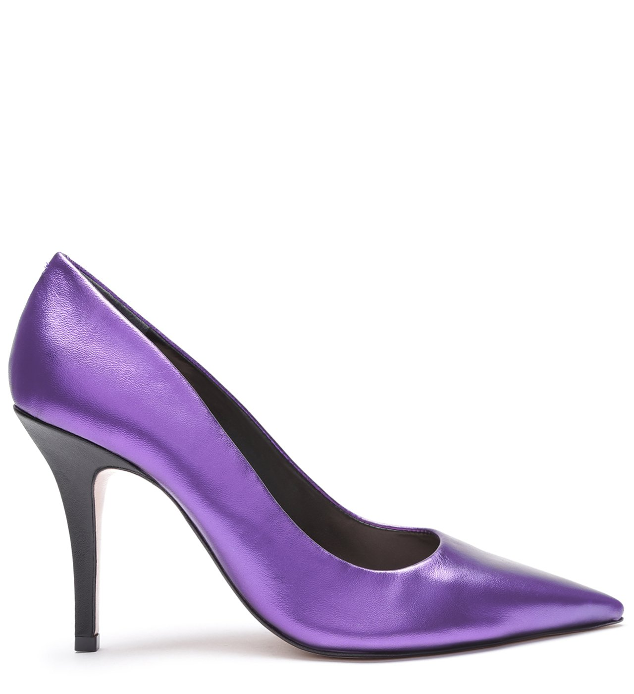 Scarpin Metallic Purple | Schutz