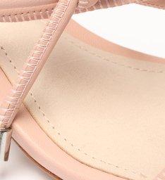 Sandália Block Heel Curves Rose