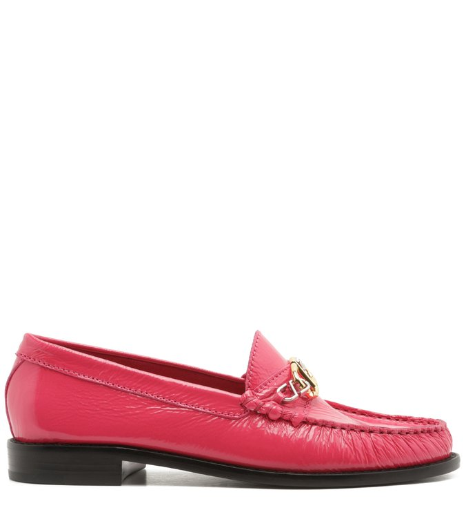 Mocassim Leather Verniz Pink | Schutz