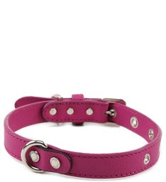 BRACELETE PINK WOOD DOG CHARM