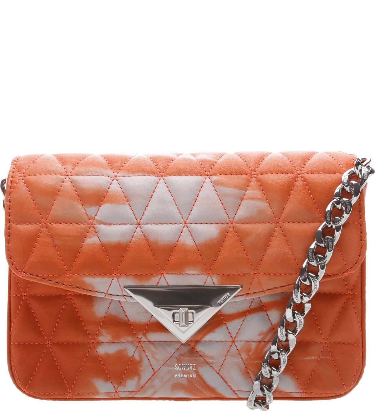 Mini Crossbody Bag Matelassê 944 Tie- Dye Orange | Schutz
