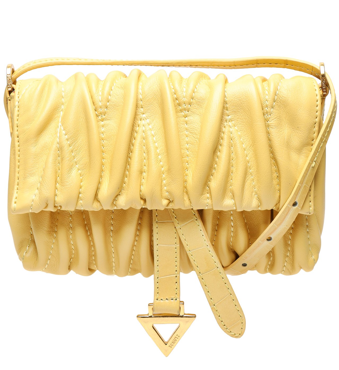 Mini Crossbody Francesca Yellow | Schutz