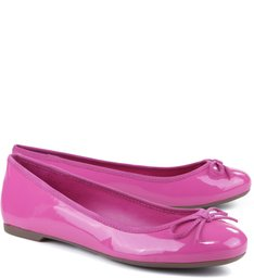 Sapatilha Verniz Pink