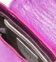 Crossbody Crush Bag Metallic Violet