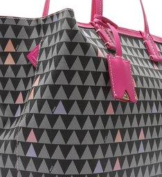 Shopping Bag Nina Triangle Pink