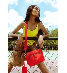 Crossbody Nylon Street Red
