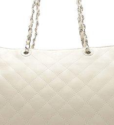 SHOPPING BAG MATELASSÊ WHITE