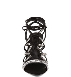 Sandália Lace Up Black