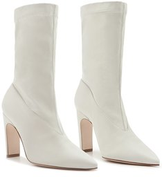Sock Boot Ava Salto White