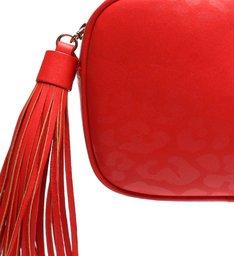 Bolsa Tiracolo Pequena Kate Onça Vermelha