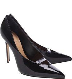 Scarpin Verniz Glam Black