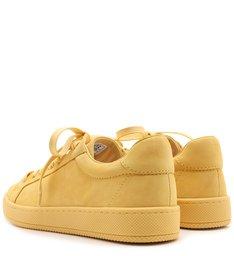 Tênis Low Camurça Yellow
