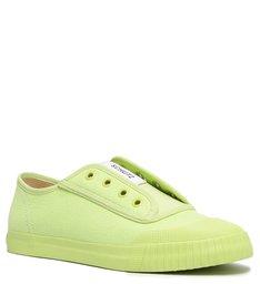 Tênis Smash Lona Verde Lime Neon