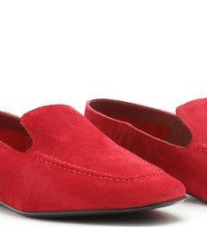 Loafer Suede Red