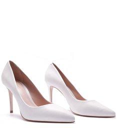 Scarpin Classic White