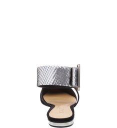 Flat Strip Silver Black