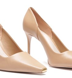 Scarpin New Classic Mid Heel Honey