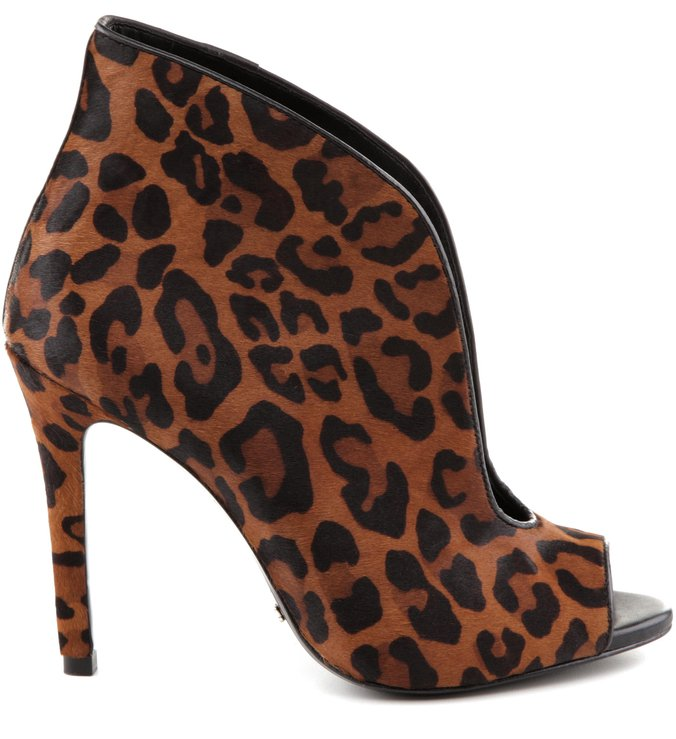 Ankle Boot Moss Animal Print