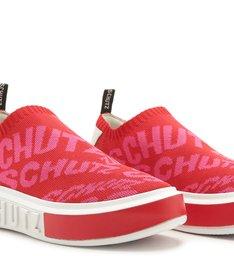 Tênis It Schutz Knit Bold Red