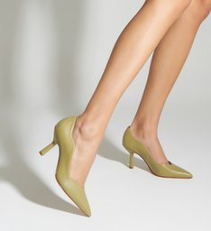 Scarpin Curves Taça Green