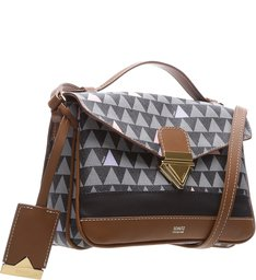 Crossbody Triangle Shutz Black