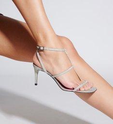 Sandália Strings Square Shiny