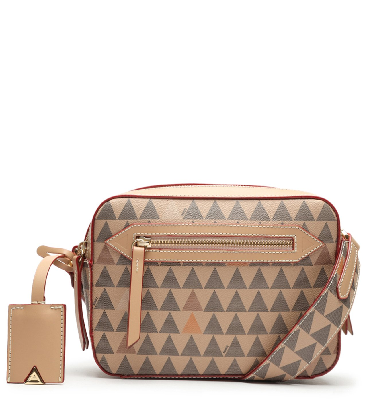 Crossbody Lili Triangle Rose | Schutz