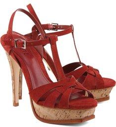 Sandália Basic Cortiça Rust