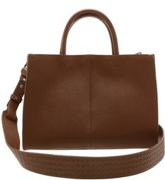 Mini Tote Slouchy Brown