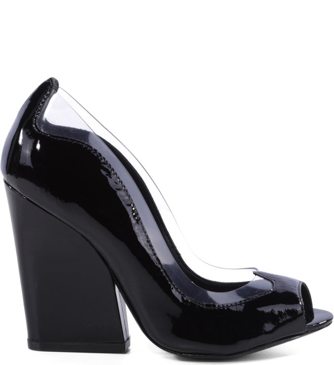 Scarpin Duo Black
